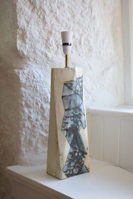 Tall Pottery Table Lamp