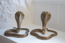 Load image into Gallery viewer, Brass Cobra Ornaments