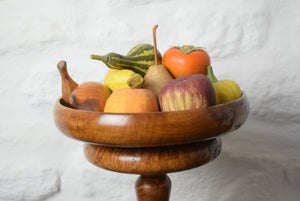 Bowl with Faux Fruit
