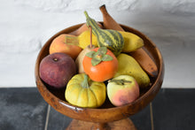 Load image into Gallery viewer, Bowl with Faux Fruit