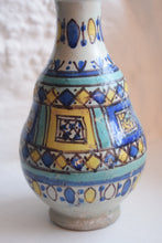 Load image into Gallery viewer, Tin Glaze Gourd Shaped Vase