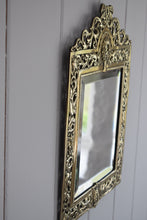Load image into Gallery viewer, Brass Green Man Mirror
