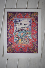 Load image into Gallery viewer, Ponckle Signed Print Cat