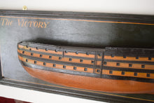 Load image into Gallery viewer, Half Hull Model HMS Victory