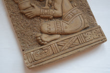 Load image into Gallery viewer, South American carved stone relief plaque