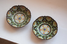 Load image into Gallery viewer, Chinese cloisonne enamel candle dishes