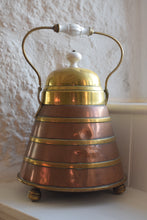 Load image into Gallery viewer, Dutch Copper & Brass Banded Doofpot