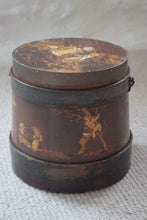 Load image into Gallery viewer, Hand Painted Dutch Wooden Firkin