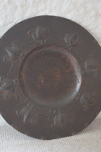 Arts And Crafts Period Copper Charger