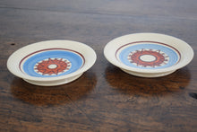 Load image into Gallery viewer, pair of blue pottery dishes