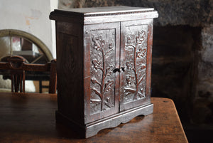 Arts And Crafts Period Oak Cabinet
