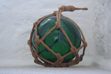 Load image into Gallery viewer, Green Vintage Japanese Glass Fishing Float