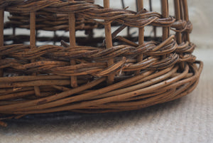 Wicker Lobster Pot