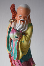 Load image into Gallery viewer, Chinese Shou Xing Porcelain Figurine
