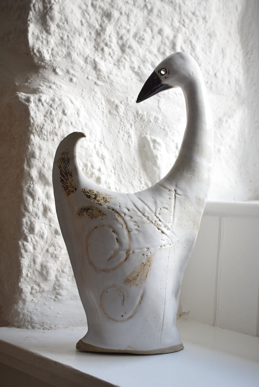 pottery figure of a goose