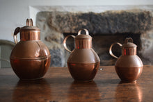 Load image into Gallery viewer, Guernsey copper creamer jugs