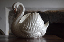 Load image into Gallery viewer, Dartmouth Pottery Swan Jardiniere