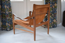 Load image into Gallery viewer, Swedish Safari Chair Hans Olsen