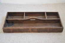 Load image into Gallery viewer, Victorian Pine Workshop Storage Tray