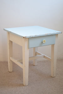 Vintage Original Painted Childs Desk with Drawer