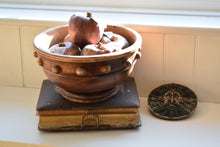 Load image into Gallery viewer, antique bowl with apples
