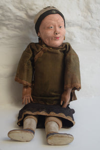 Antique Oriental Toy Doll