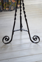 Load image into Gallery viewer, Antique Wrought Iron Conservatory Plant Stands