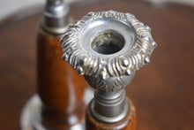 Load image into Gallery viewer, Foliate Decorated Candleholders c1920s