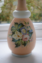 Load image into Gallery viewer, Antique Opaline Glass Vase in Pink