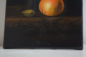 Mike Woods Still Life Oil On Canvas Unframed