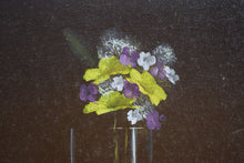 Load image into Gallery viewer, Oil On Canvas Apple Flowers & Grapes