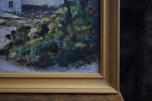 Load image into Gallery viewer, Oil on Board Rural Cottage Scene