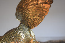 Load image into Gallery viewer, Large Brass Eagle on Perch