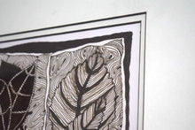 Load image into Gallery viewer, Pen and Ink Drawing Leaves