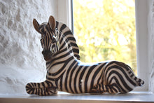 Load image into Gallery viewer, Italian Ceramic Zebra