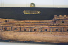 Load image into Gallery viewer, Antique Half Hull Folk Art Ship Builders Model