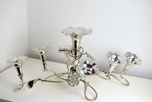 Silver Plated English Epergne