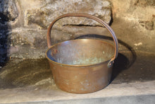 Load image into Gallery viewer, Antique Bronze Bucket with Cast Iron Handle