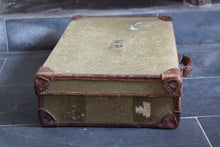 Load image into Gallery viewer, Vintage Military WW2 Demob Suitcase