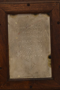 Sherwin & Cotton Tile of William Gladstone by George Cartlidge