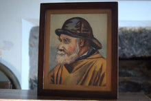 Load image into Gallery viewer, Portrait Painting of a Fisherman