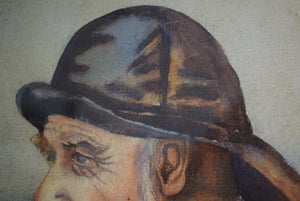 Portrait Painting of a Fisherman