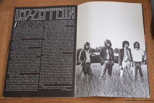 Original Led Zeppelin at Knebworth Programme