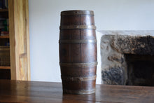 Load image into Gallery viewer, Antique Oak Coopered Barrel Keg Cask