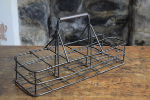 Metal Milk Bottle Carrier