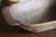 Load image into Gallery viewer, Large Antique English Elm Dough Bowl