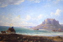 Load image into Gallery viewer,  Oil On Canvas Mounts Bay Cornwall