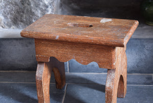 Antique Scumble Glaze Stool