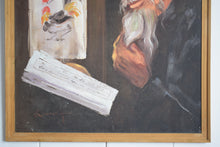 Load image into Gallery viewer, Bearded Scholar Oil on Board