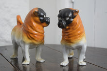 Load image into Gallery viewer, ceramic pug dogs